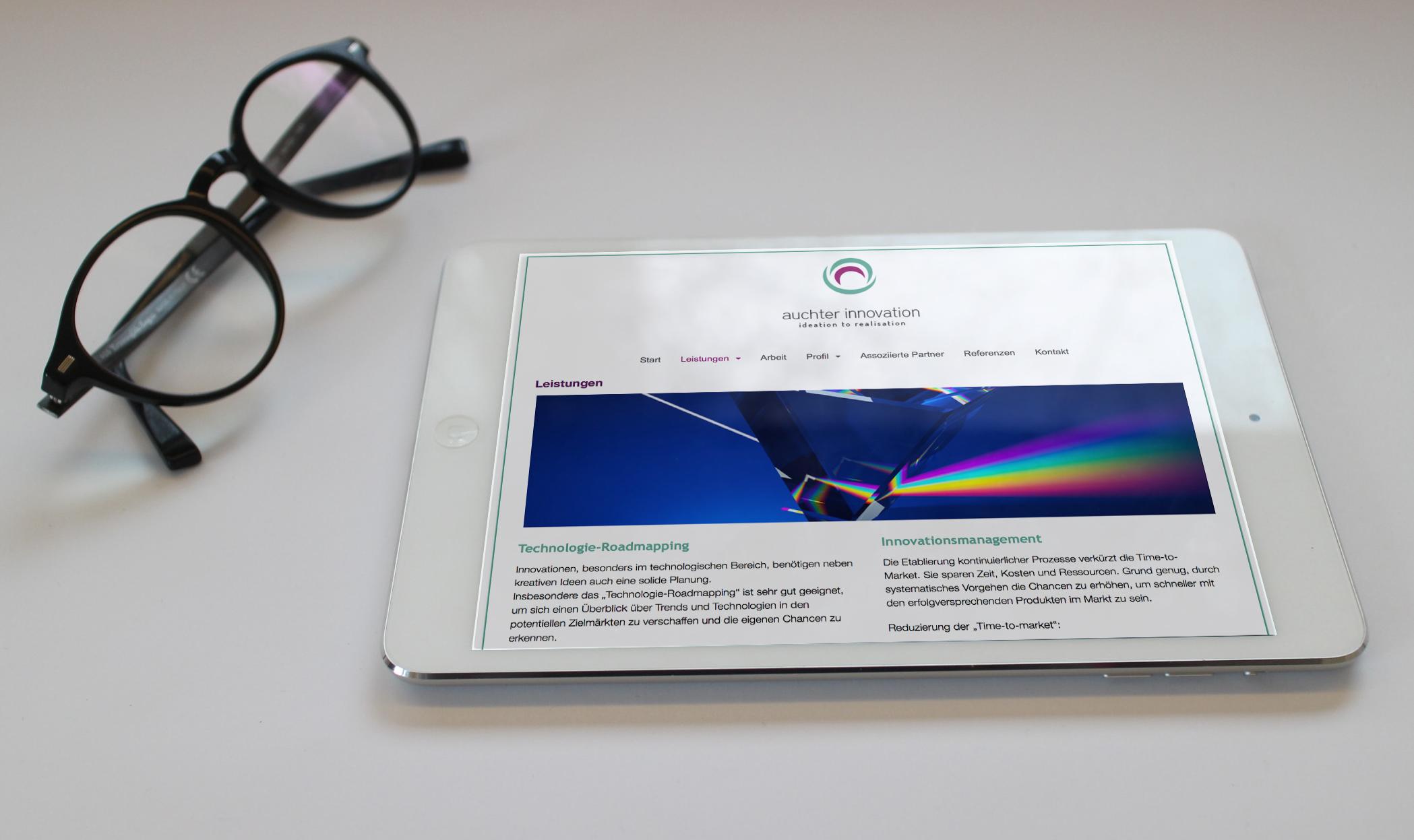 TechnologieRoadmapping_Homepage
