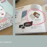 Dawanda Lovebook unsere Postkarten