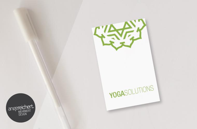Yogalogo für Jogastudio