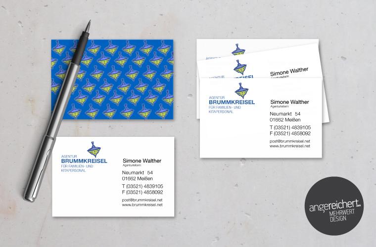 Visitenkarten Agentur