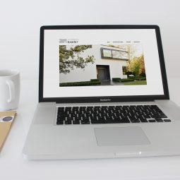 Webseiten für Architektin