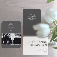 wedding logo and wedding cards