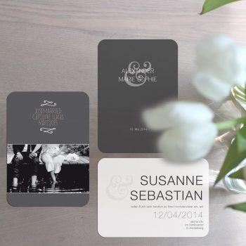 wedding logo and wedding cards
