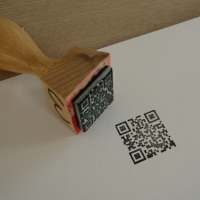 QR stamp