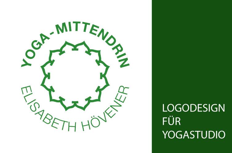 Yogalogo für Yogalehrerin