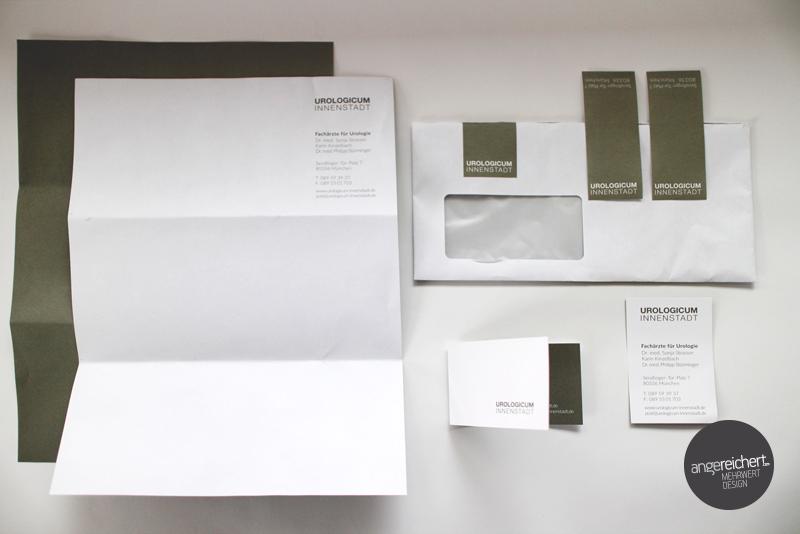 Praxislogo Mit Visitenkarten Briefpapier Angereichert
