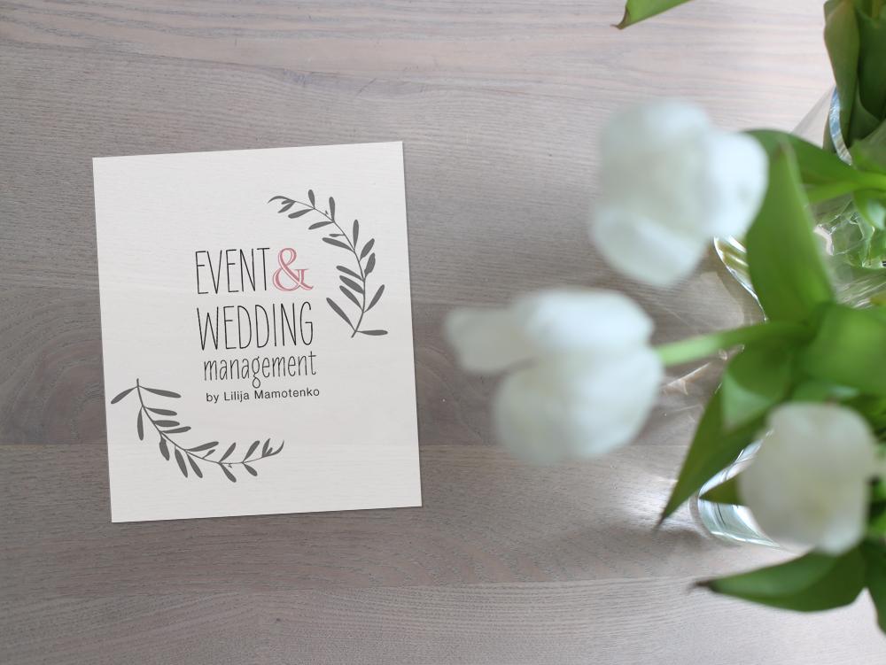 Logodesign für Hochzeitsplanerin