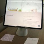 Logo, Homepage und Visitenkarte
